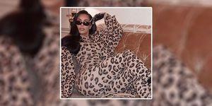 kim kardashian, fashion, leopard print
