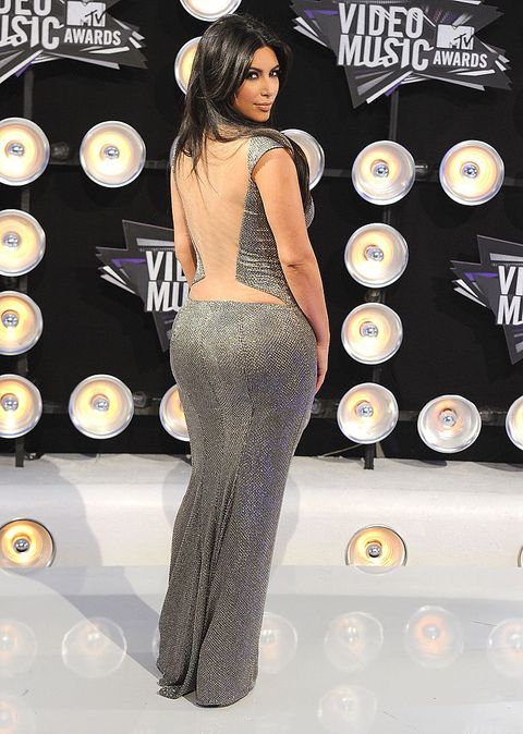 What Kim Kardashian wore to MTV VMAs