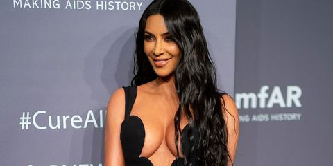 9a64f18c34 Kim Kardashian showed off the most amount of cleavage in a super low ...