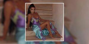 Kim Kardashian versace dress