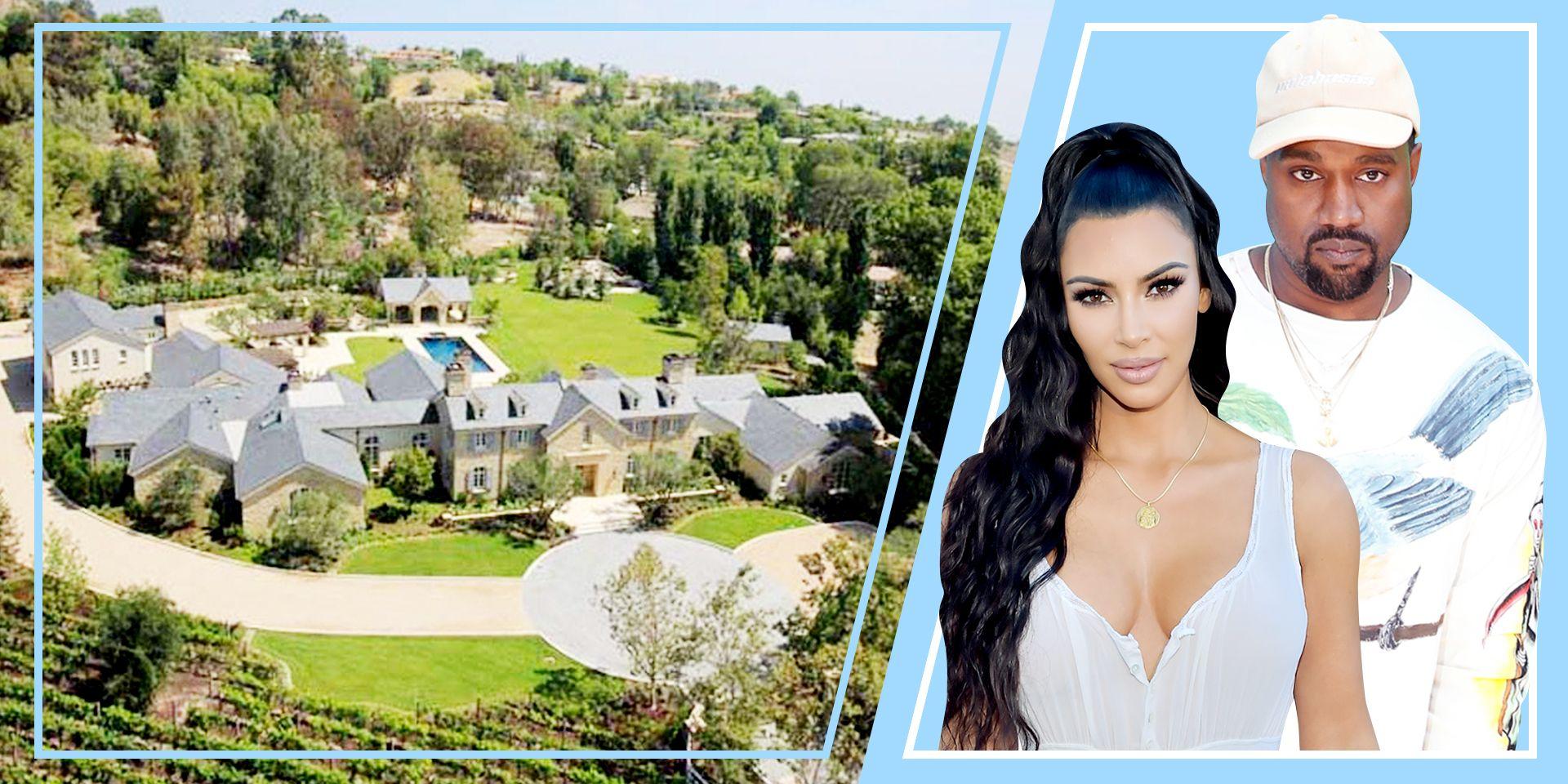 kim kardashian kanye west hidden hills house