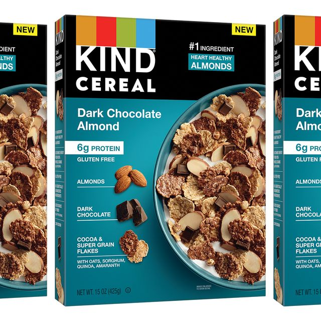 kind dark chocolate almond cereal