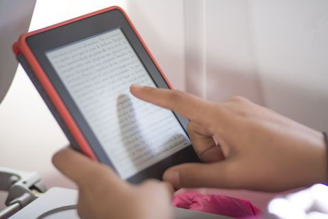 I've Stopped Comparing My Kindle to My Books