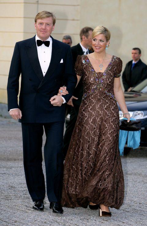 kroonprinses máxima en kroonprins willem alexander in 2006 60ste verjaardag koning zweden
