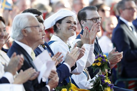 crown princess victoria National Day in Sweden 2019