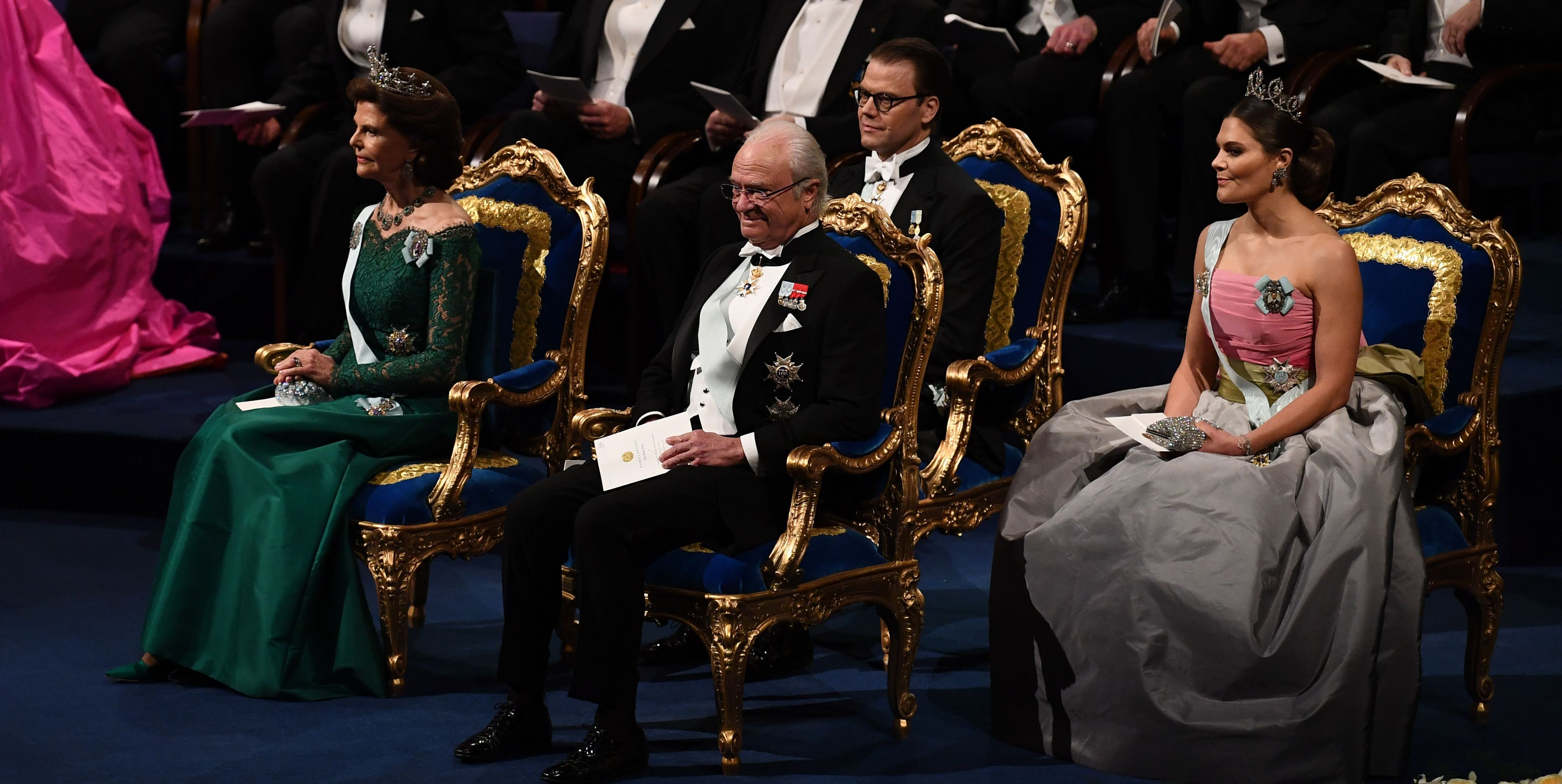 All the Photos of the Norwegian and Swedish Royal Families at the Nobel Peace Prize Ceremonies