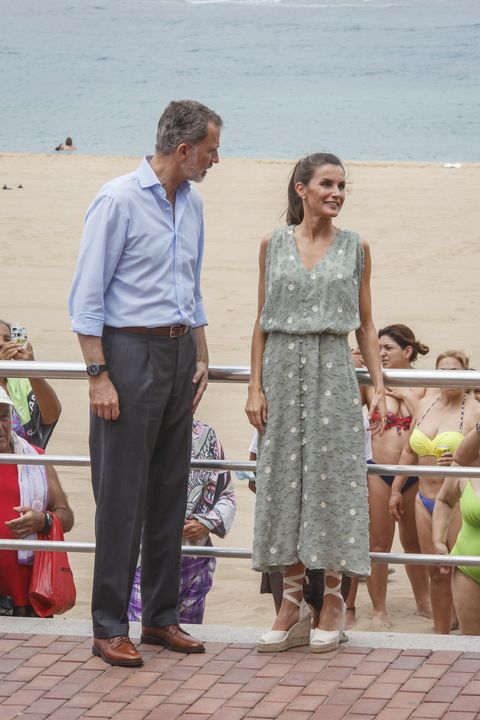 spanish royal tour   canary islands