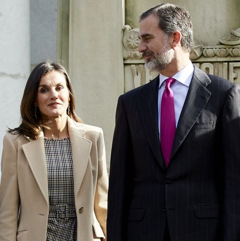 Felipe y LetiziaSpanish Royals Arrive At The Inaugural Act Of The Bicentennial Of The Prado Museum