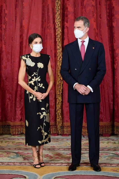 spanish royals host a dinner for president of south corea