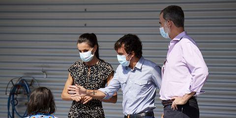 spanish royals on tour   asturias