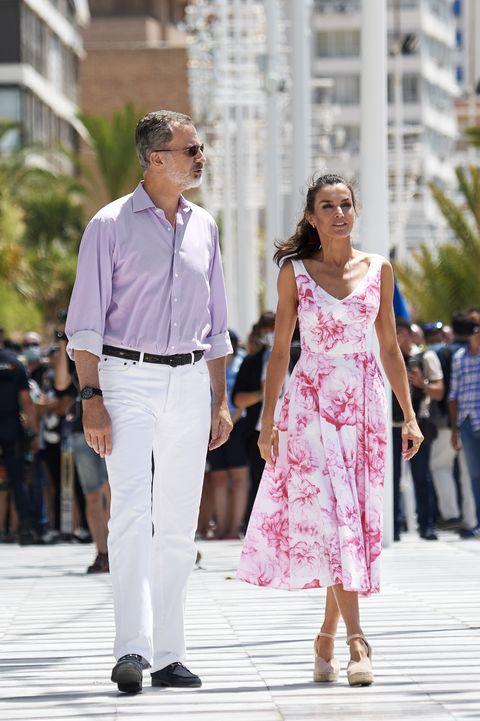 spanish royal tour   benidorm