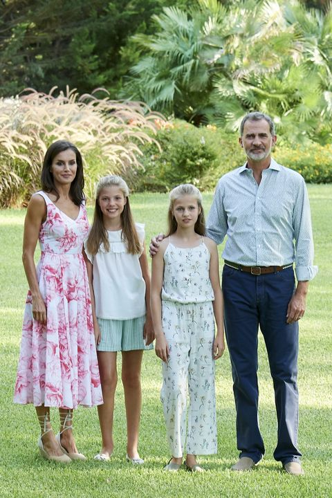 Spanish Royals Summer Photocall In Palma de Mallorca