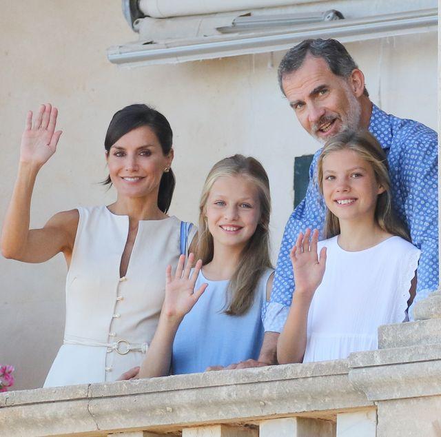 spanish royals visit 'son marroig' museum