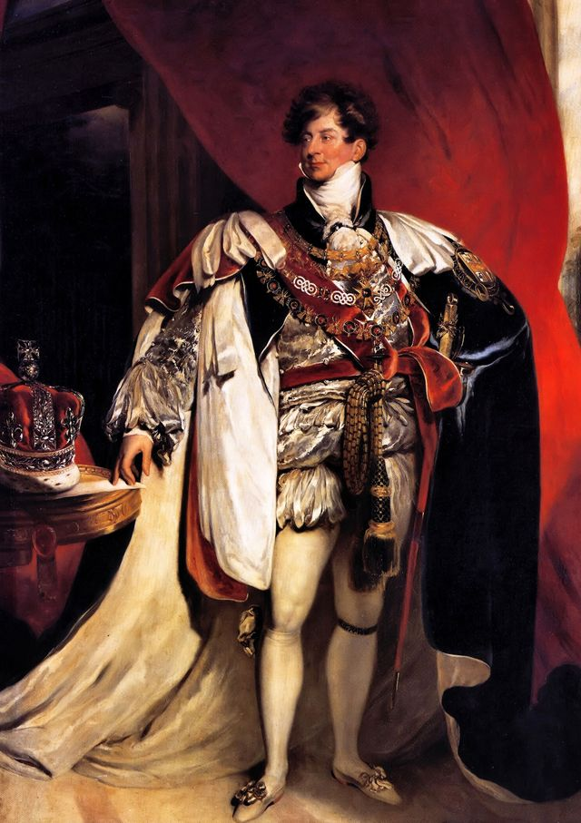 george iv 1762   1830, king of great britain 1820   1830 portrait as prince regent by thomas lawrence 1822 photo by universal history archivegetty images