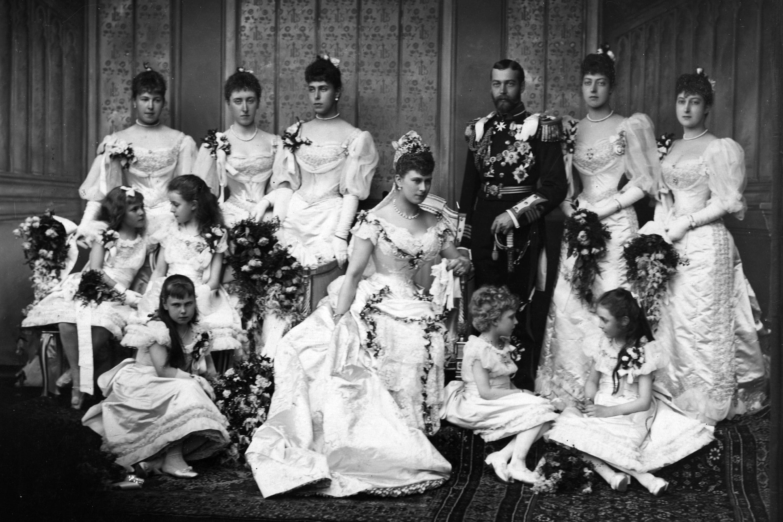 King George V and Princess Mary of Teckwedding