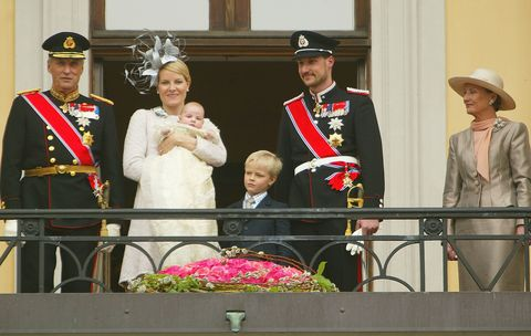 Christening Of Her Royal Highness Princess Ingrid Alexandra