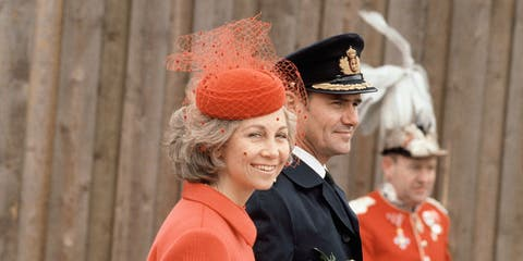 Juan Carlos and Sofia of Spain in the Netherlands