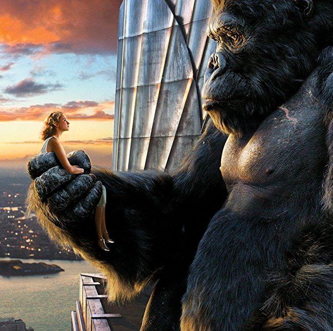 King Kong A giant ape.