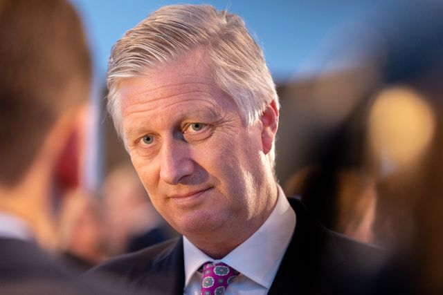 king philippe of belgium attends the 125th anniversary of the federation of enterprises feb at the bozar palace in brussels