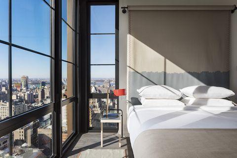 Moxy Chelsea, hotel a New York, camera