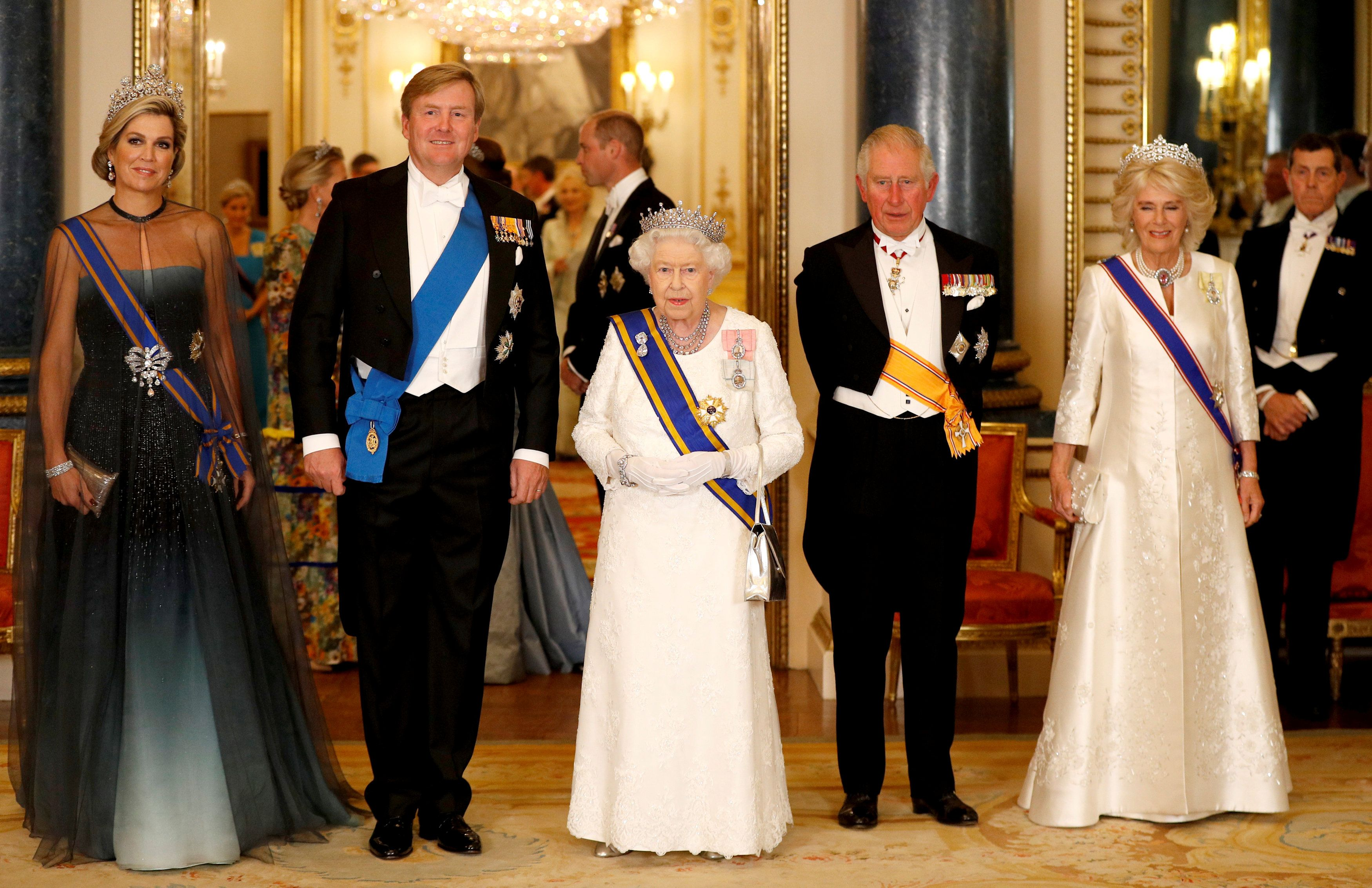 BRITAIN-NETHERLANDS-ROYALS