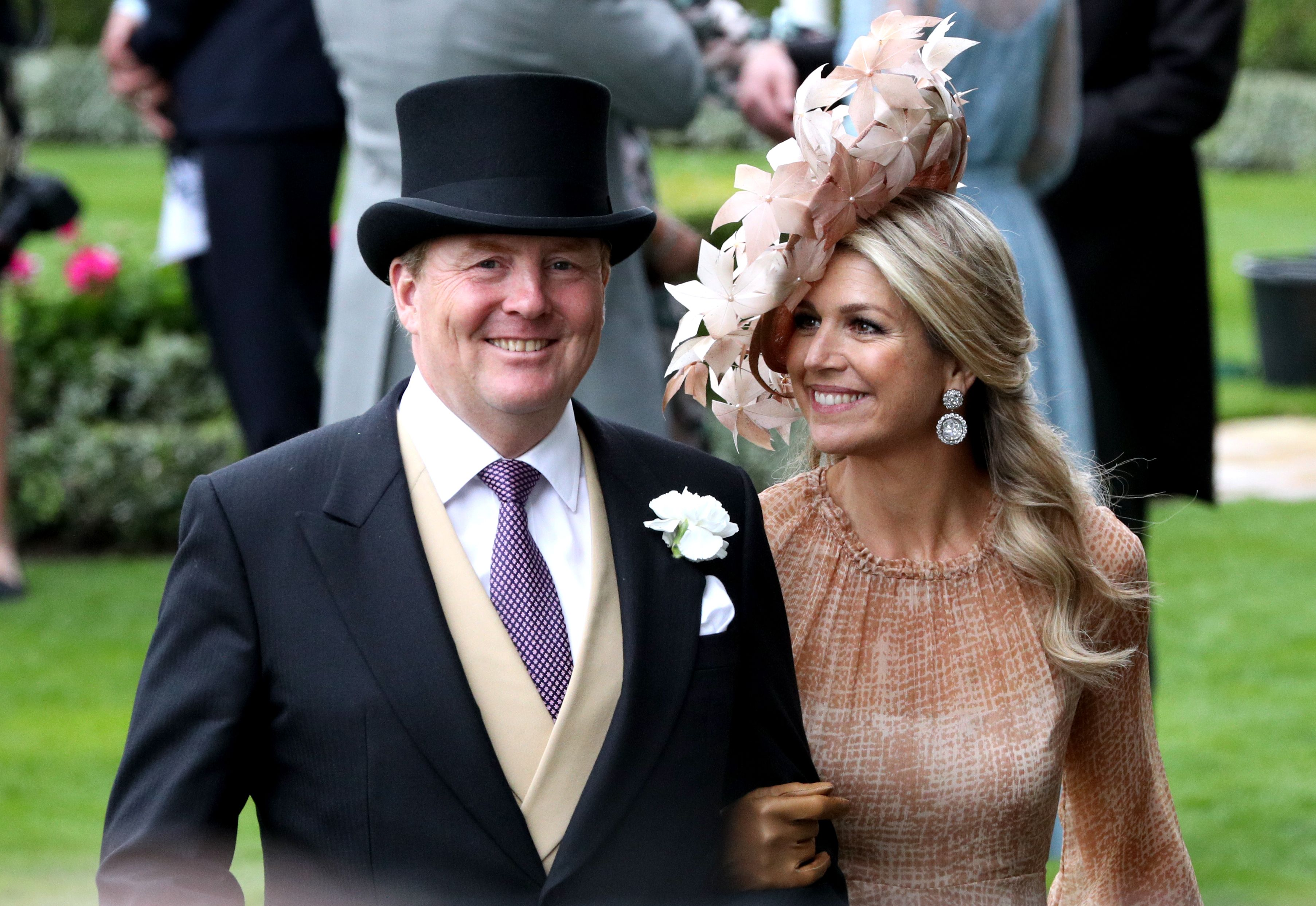 Queen Maxima of the Netherlands Is Killing the Hat Game at the Royal Ascot