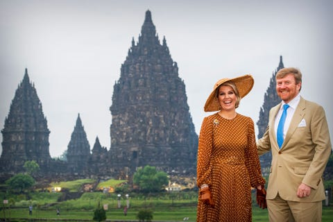 King Willem-Alexander Of The Netherlands And Queen Maxima : State Visit To Indonesia : Day Two