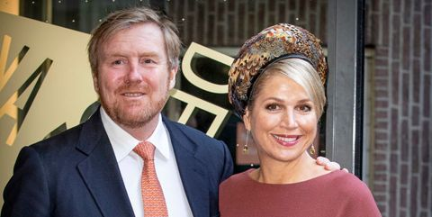 """king willem alexander of the netherlands  queen maxima attend a seminar """"indonesia and the netherlands a joint future"""""""