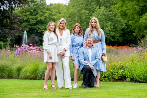 dutch royal family summer photosession