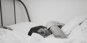 slaap-vrouw