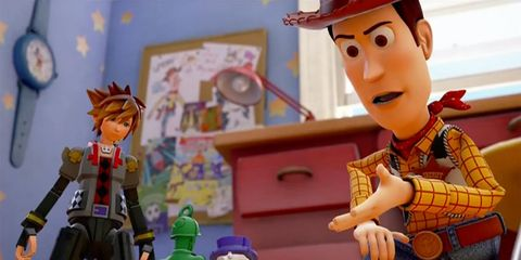 kingdom hearts 3 peliculas disney toy story