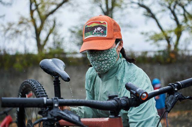 coronavirus concerns and cycling