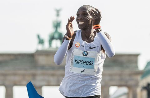 Amazing Stats from Eliud Kipchoge's Marathon World Record