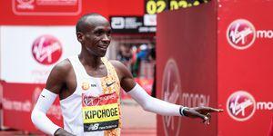 Eliud Kipchoge runs second fastest marathon time at London Marathon
