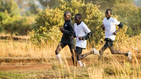 People in nature, Running, Recreation, Sports training, Jogging, Exercise, Long-distance running, Sports, Cross country running, Athletics,