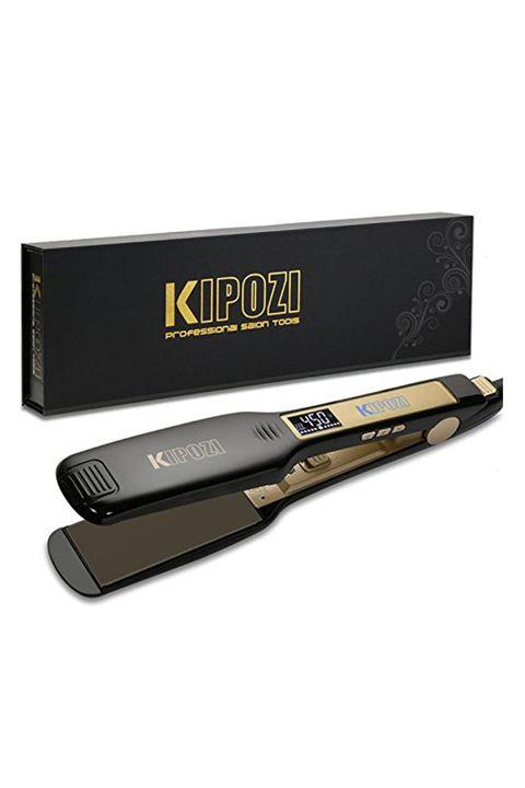 KIPOZI Professional Titanium Flat Iron Hair Straightener