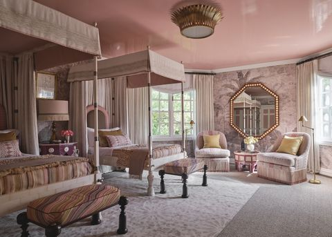 kips bay dallas 2021 bedroom martyn lawrence bullard pink rooms