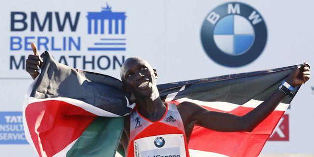 Wilson Kipsang Sets New Marathon World Record Of 20323 Runners