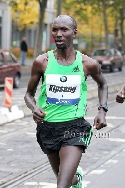 Wilson Kipsang Chases a World Marathon Record in Berlin