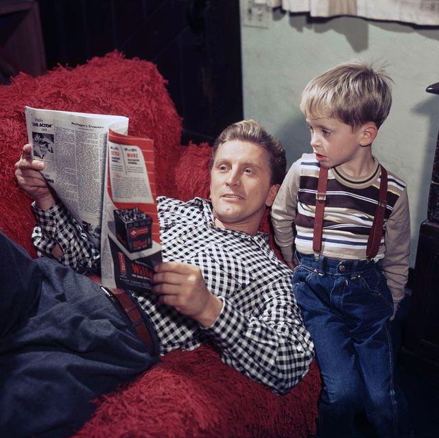 Kirk y Michael Douglas_Regalos dia del padre