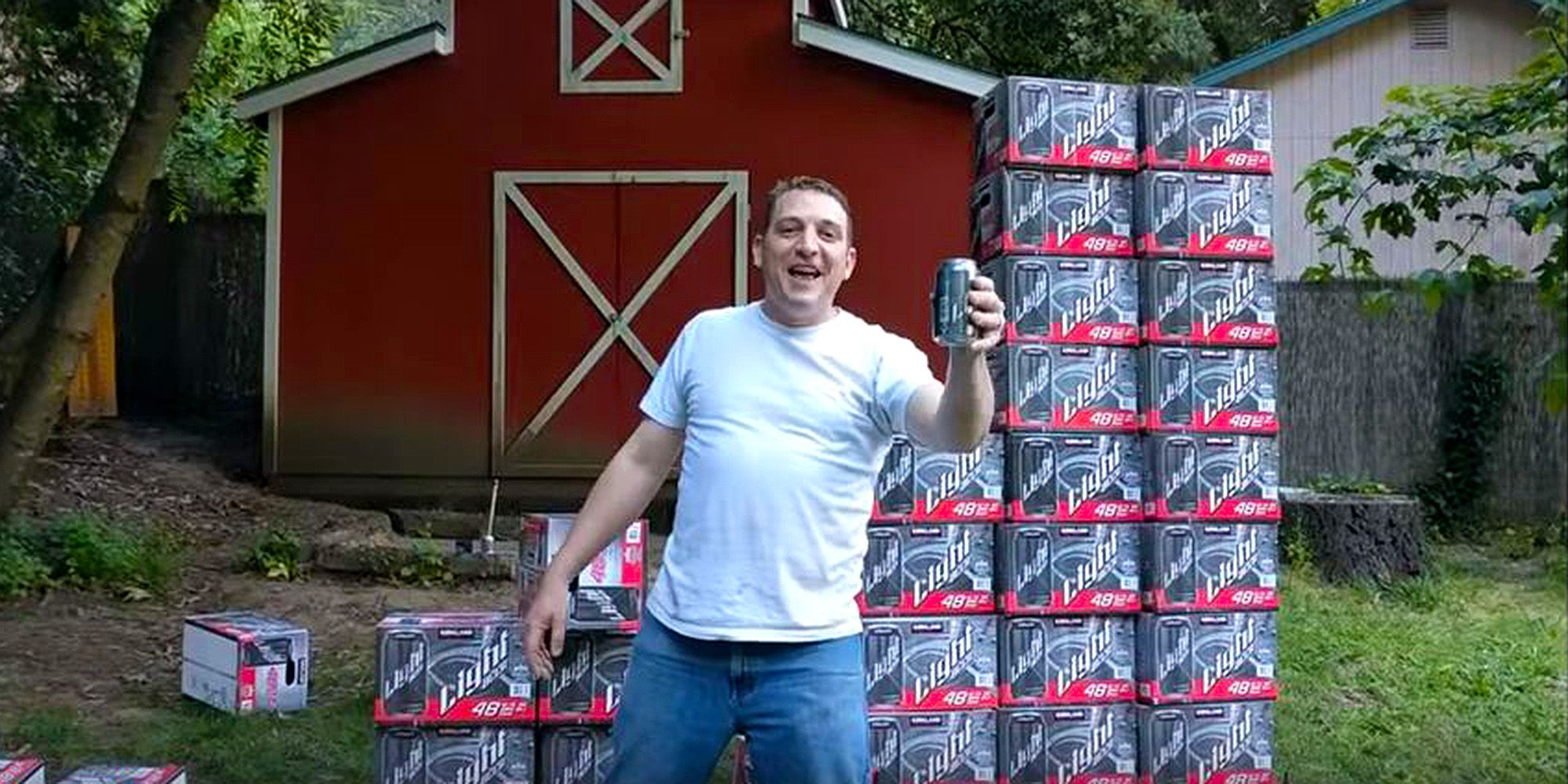 Man goes viral for his hilarious costco kirkland light beer commercial mozeypictures Gallery