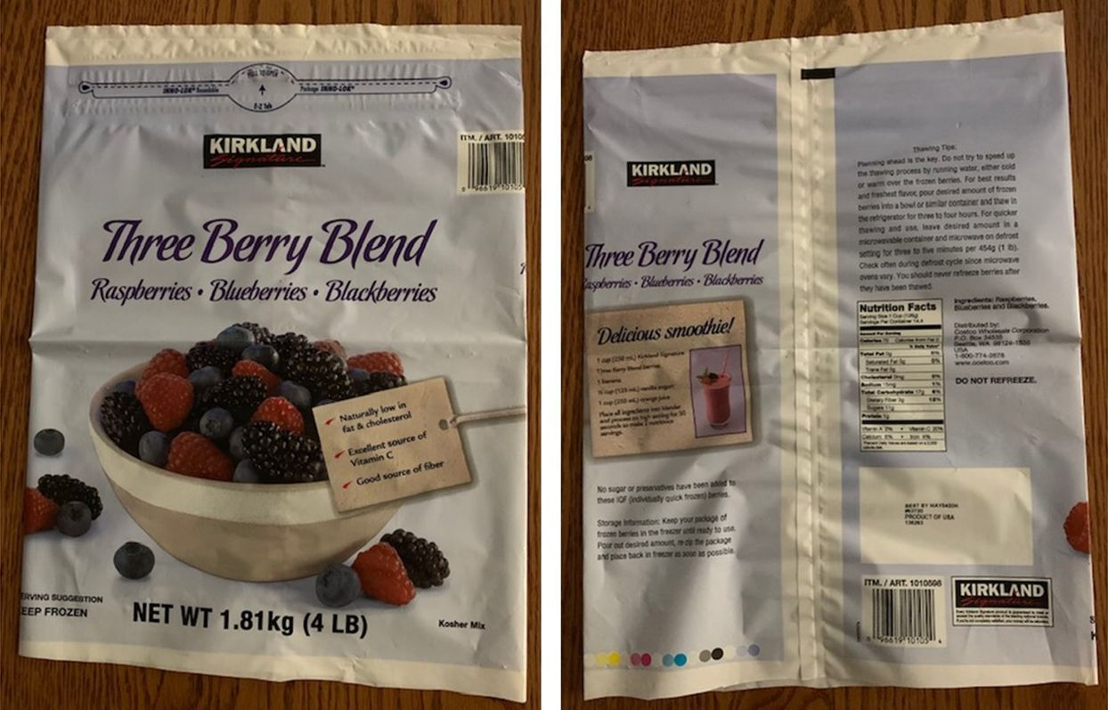 Frozen Berries Recalled From Costco And Kroger