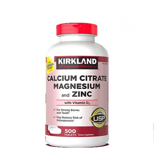 Kirkland Zinc Vitamin supplement