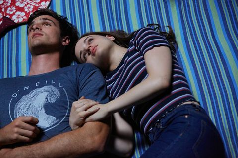 joey king as elle and jacob elordi as noa in the kissing booth 3