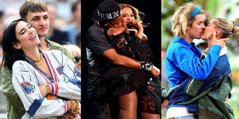 47 Celebrity Pda Photos Famous Couples Kissing