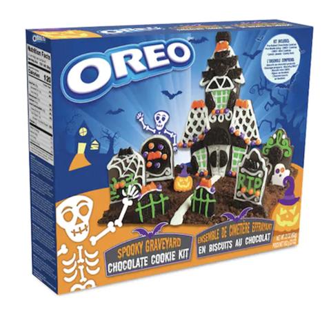 oreo haunted cookie kit