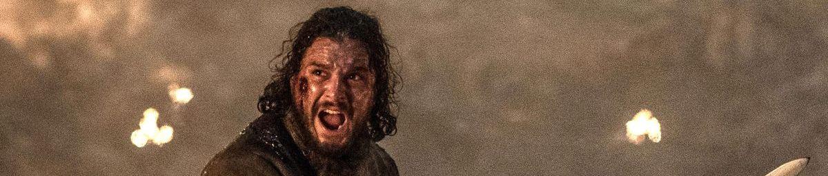 Kit Harington as Jon Snow, Game of Thrones, season 8, episode 3