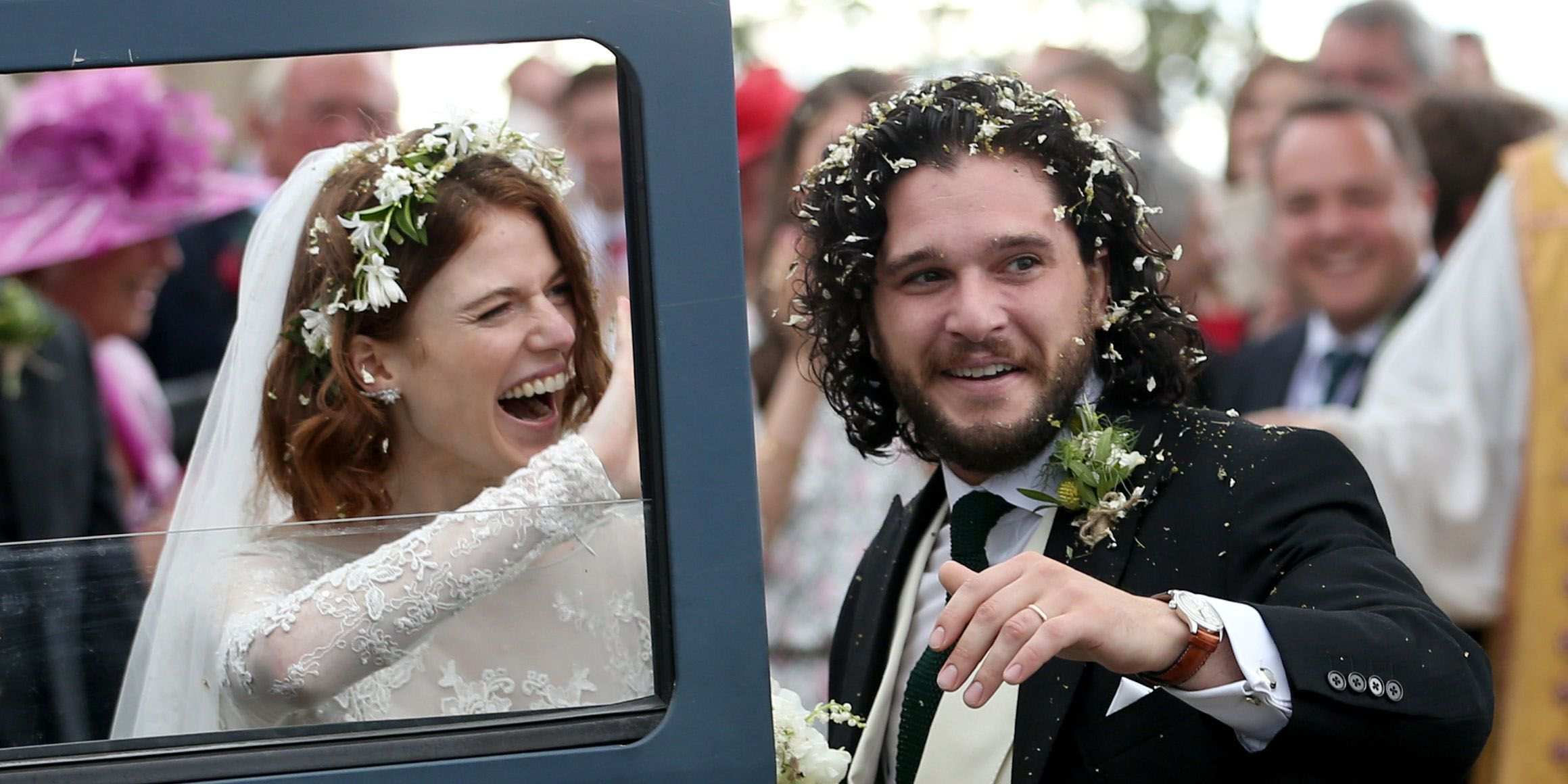 Kit Harington And Rose Leslie Are Married Game Of Thrones Co Stars