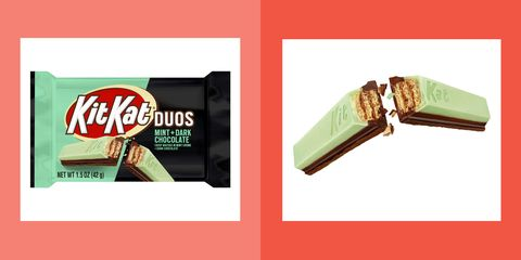 Kit-Kat's Newest Flavor Is a Mint Chocolate Lover's Dream Come True