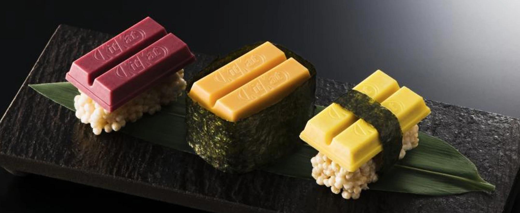 Kit Kat Sushi Tastes Better Than It Looks